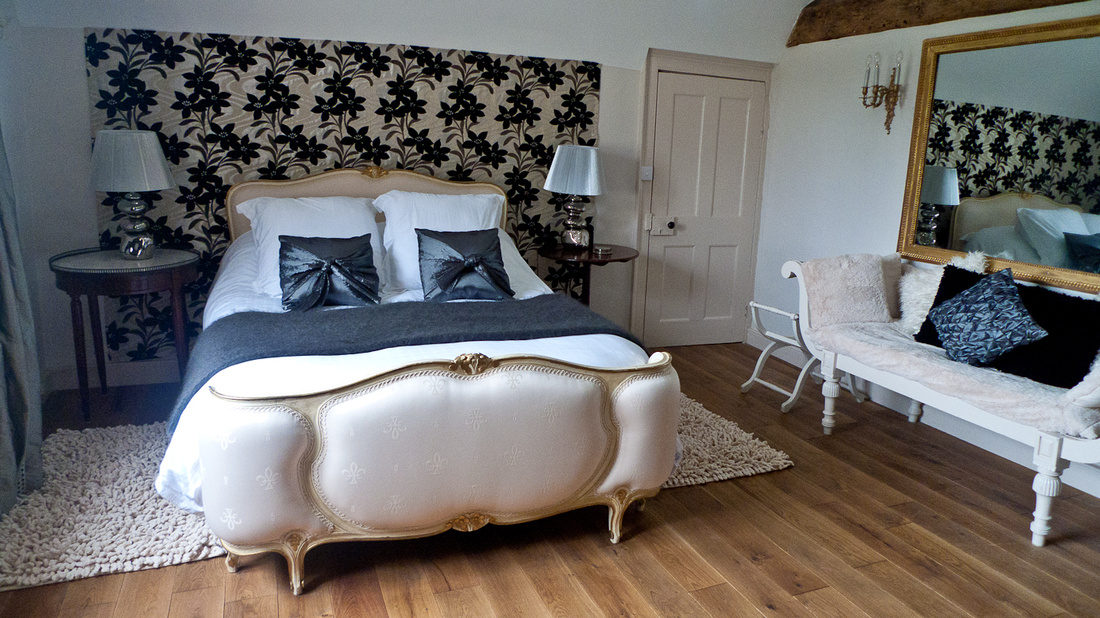 Wootton Park farmhouse wedding luxury reception