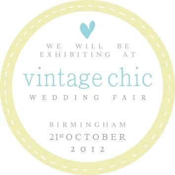 Vintage Chic Wedding Fair Birmingham