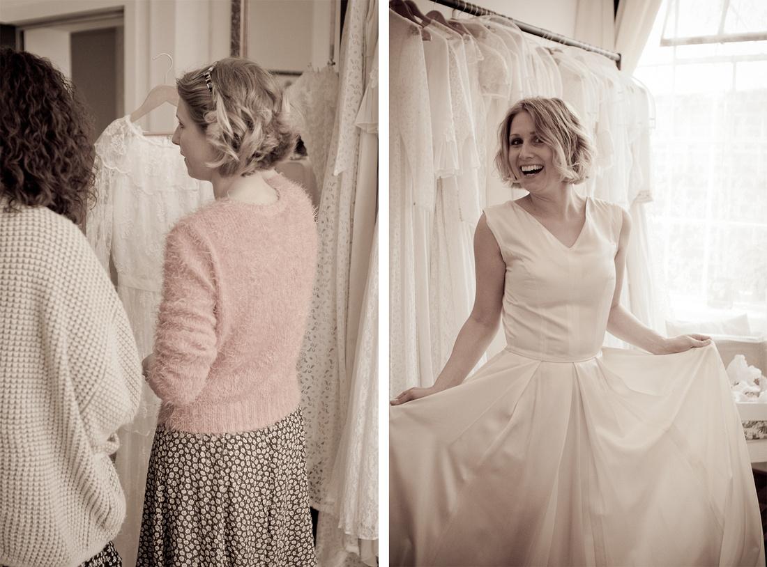 vintage wedding dress Birmingham Luxe Bridal photography