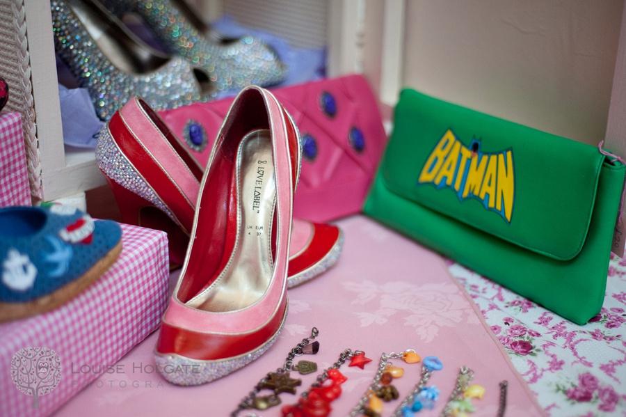 Jenny Revive Batman bag shoes