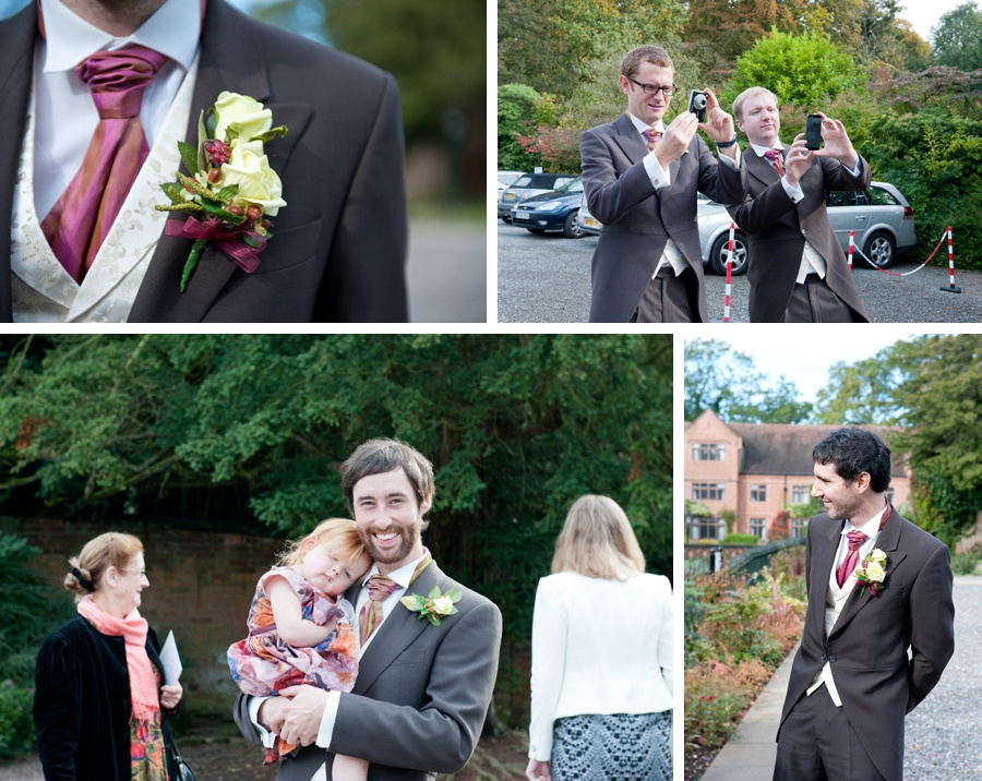 groom guests New Hall Sutton Coldfield Birmingham documentary wedding photography