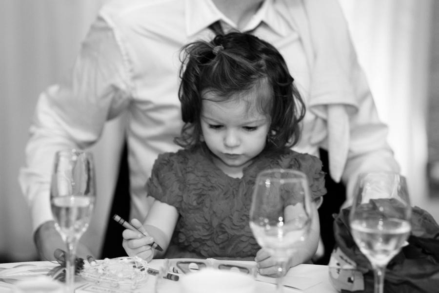 speeches little girl wedding New Hall Birmingham documentary photography