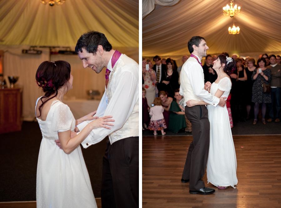 bride groom first dance wedding New Hall Sutton coldfield