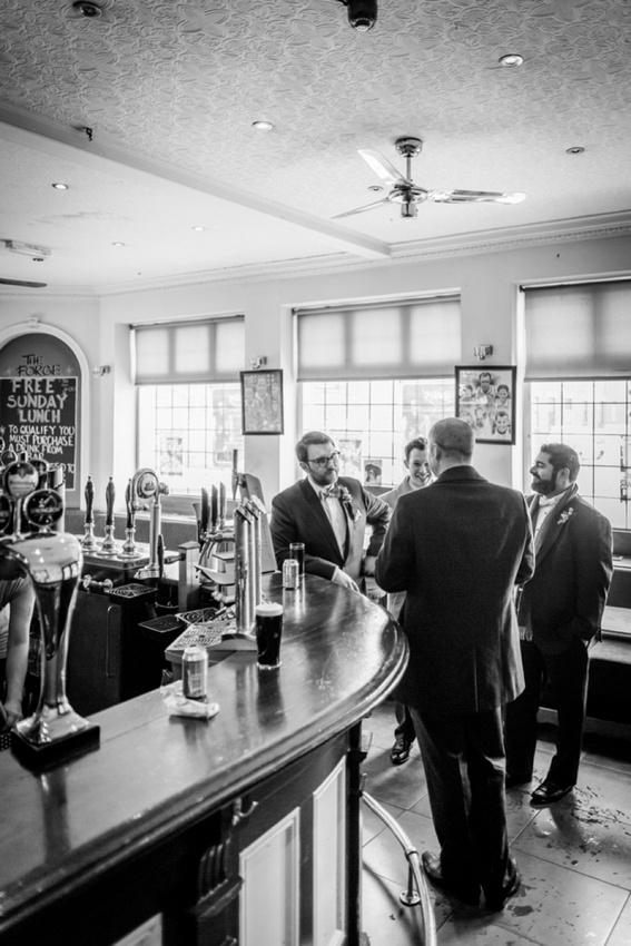 "vintage wedding photography photographer ""Fazeley Studios"" Birmingham Forge pub"