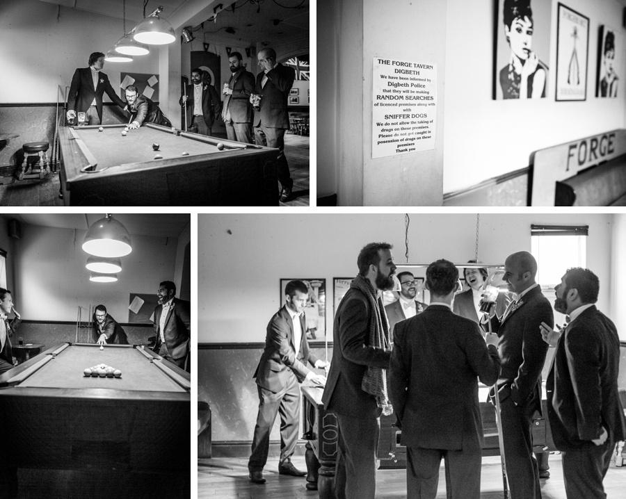 "vintage wedding photography photographer ""Fazeley Studios"" Birmingham Forge Tavern pub"