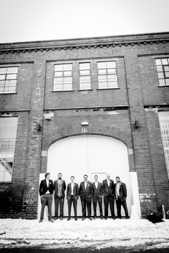 "vintage wedding photography photographer ""Fazeley Studios"" Birmingham groomsmen"