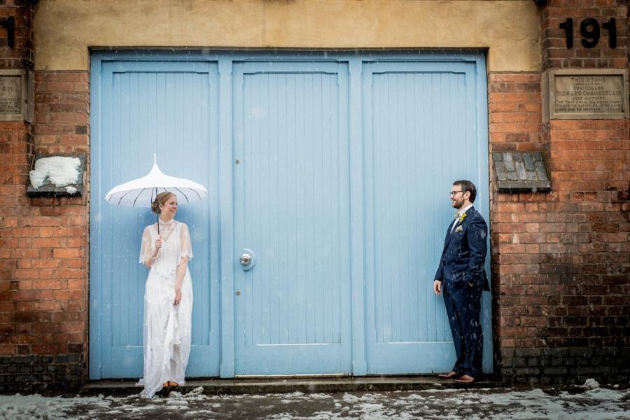 "Birmingham wedding photographer ""Fazeley Studios"" vintage photography couple portrait"
