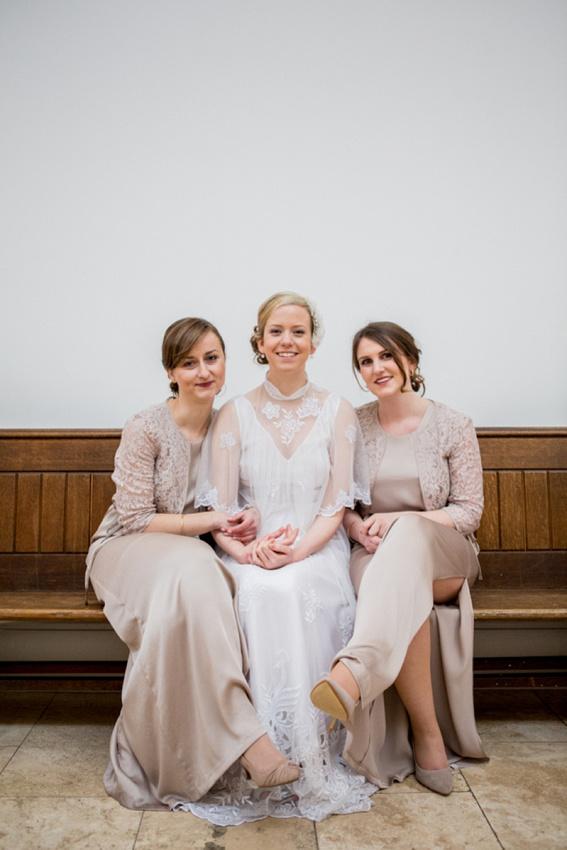 "Birmingham wedding photographer ""Fazeley Studios"" vintage photography bride bridesmaids"