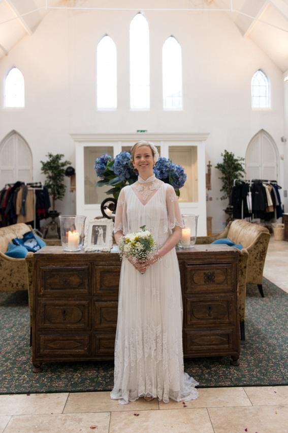 "Birmingham wedding photographer ""Fazeley Studios"" vintage dress photography bride portrait"