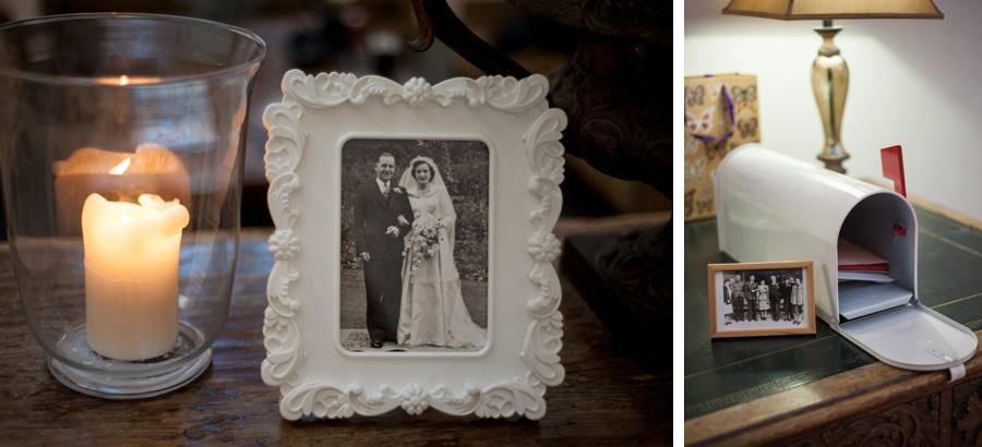 "Birmingham wedding photographer ""Fazeley Studios"" vintage photography photograph mailbox candle"