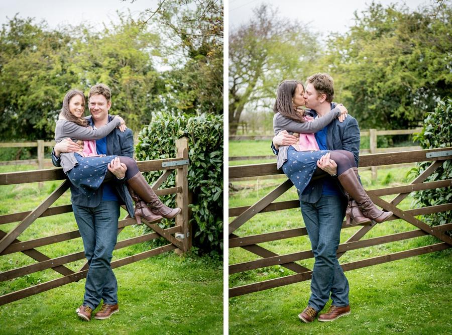 pre-wedding, photo, shoot, photos, Redhouse Barn, Stoke Prior, Worcestershire, Bromsgrove, gate