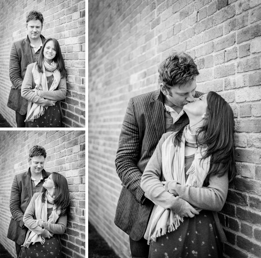 pre-wedding, photo, shoot, photos, Redhouse Barn, Stoke Prior, Worcestershire, Bromsgrove, brick, wall