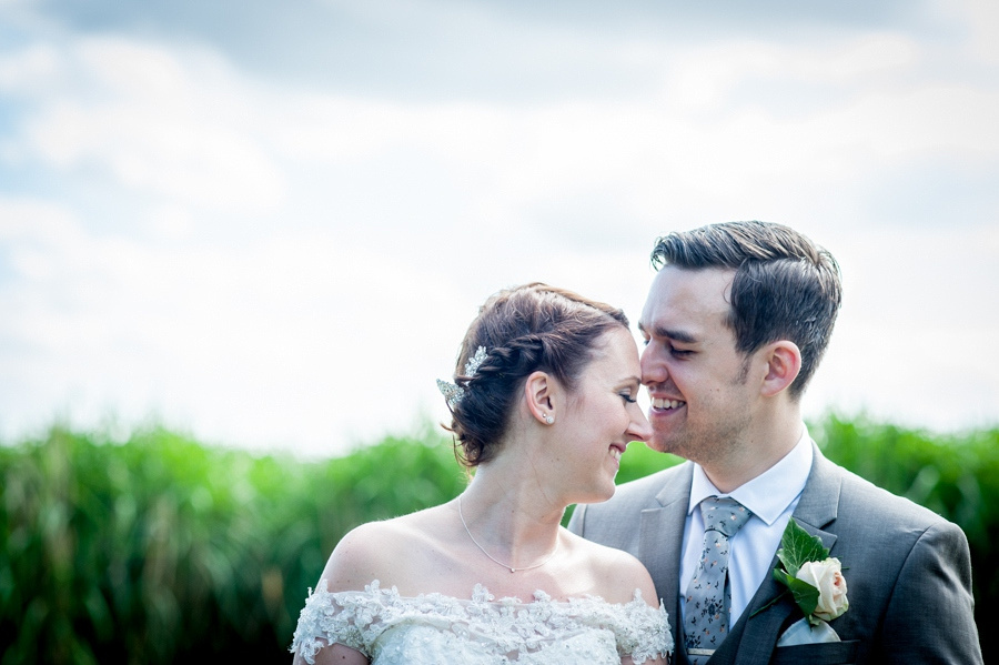 bride, groom, romantic, portrait, wedding