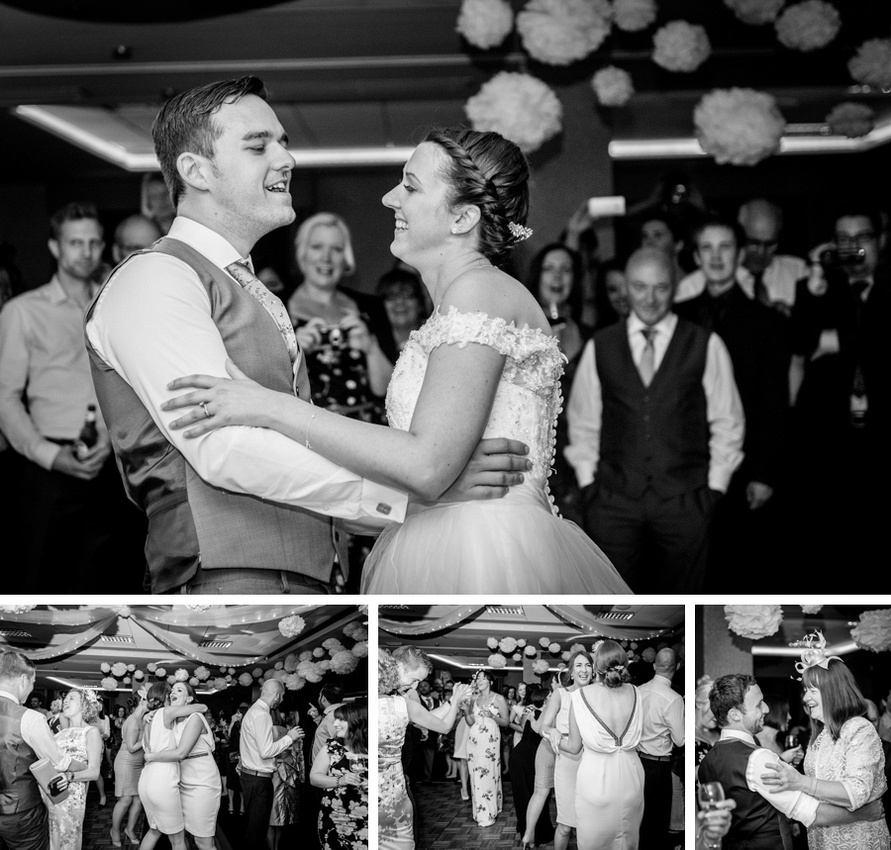 first dance, pompoms, Mallory Court