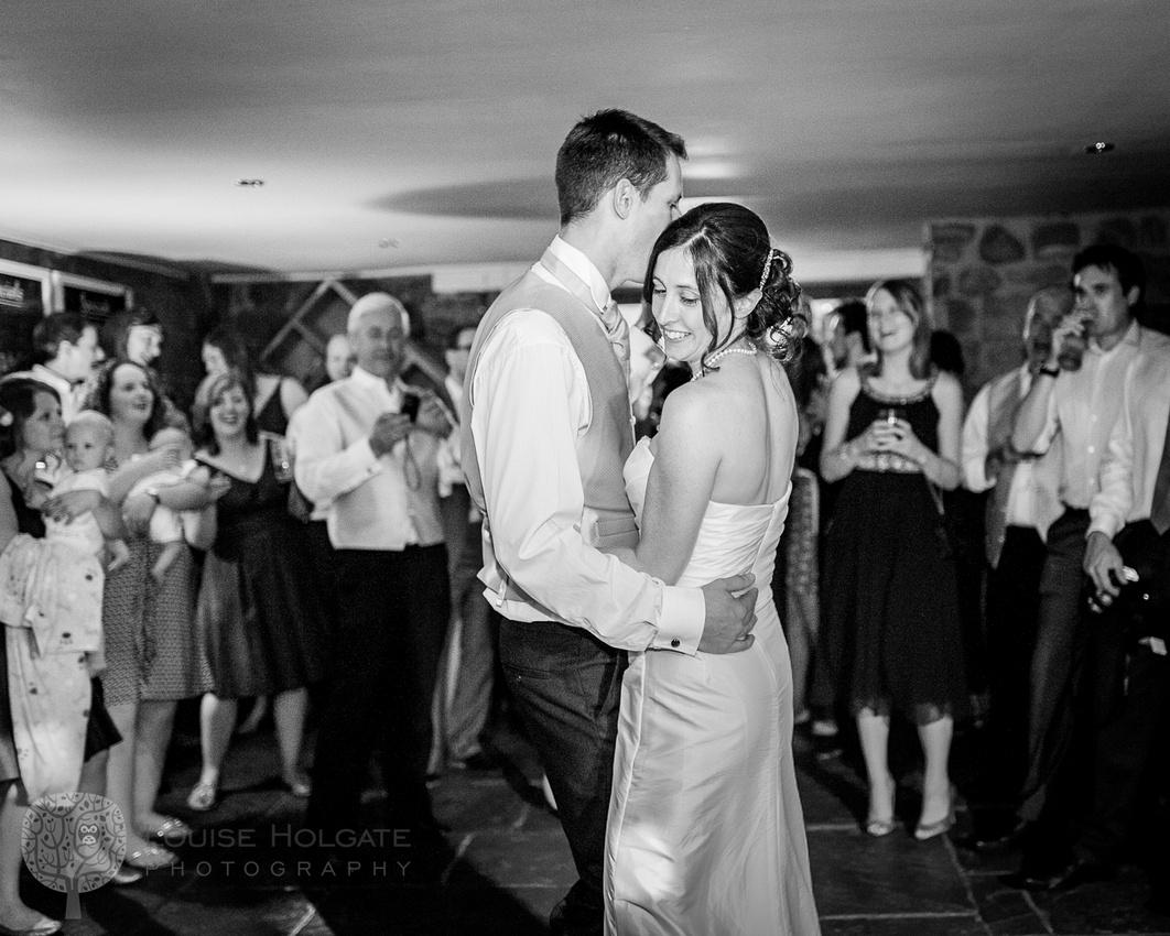 first dance, pub, bride, groom, wedding