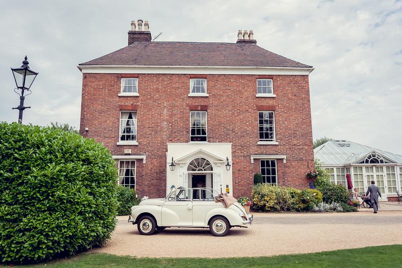 Hadley Park House Hotel Telford vintage Morris Minor