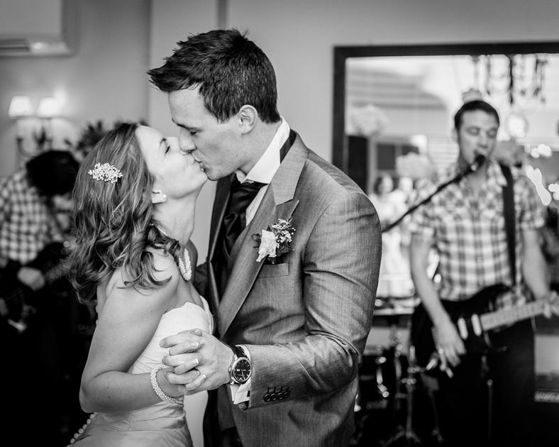 first dance kissing Hadley Park House Shropshire Telford