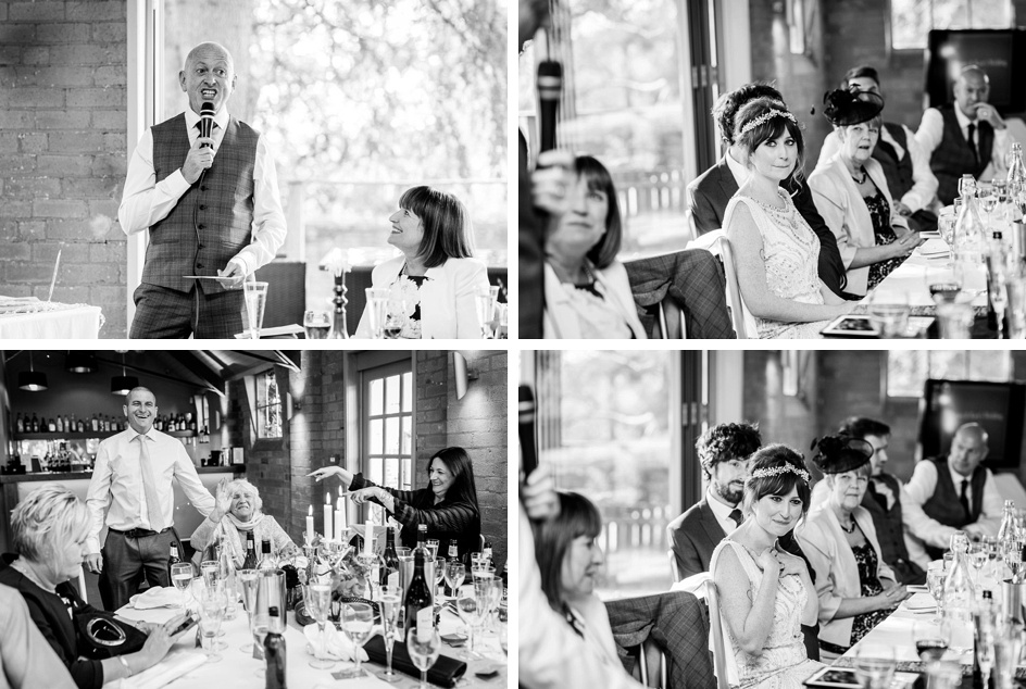 father of the bride speech at Gorcott Hall