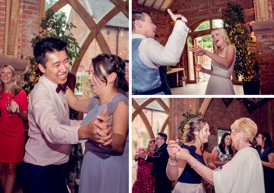 dancefloor action at Shustoke Farm Barns
