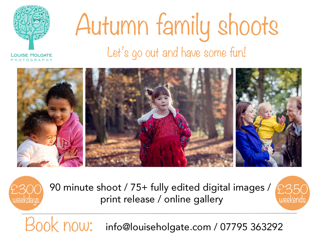 Autumn family photo shoot Birmingham midlands outdoors natural relaxed