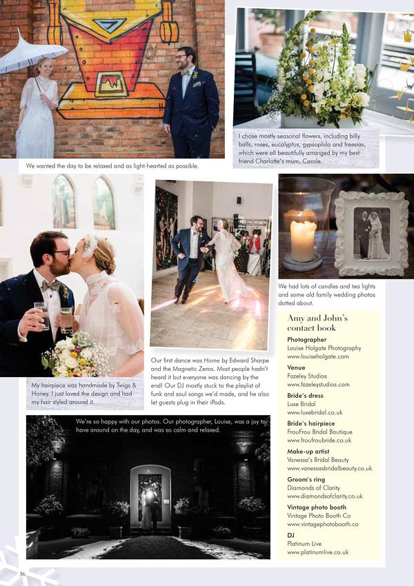Wedding Magazine feature 4