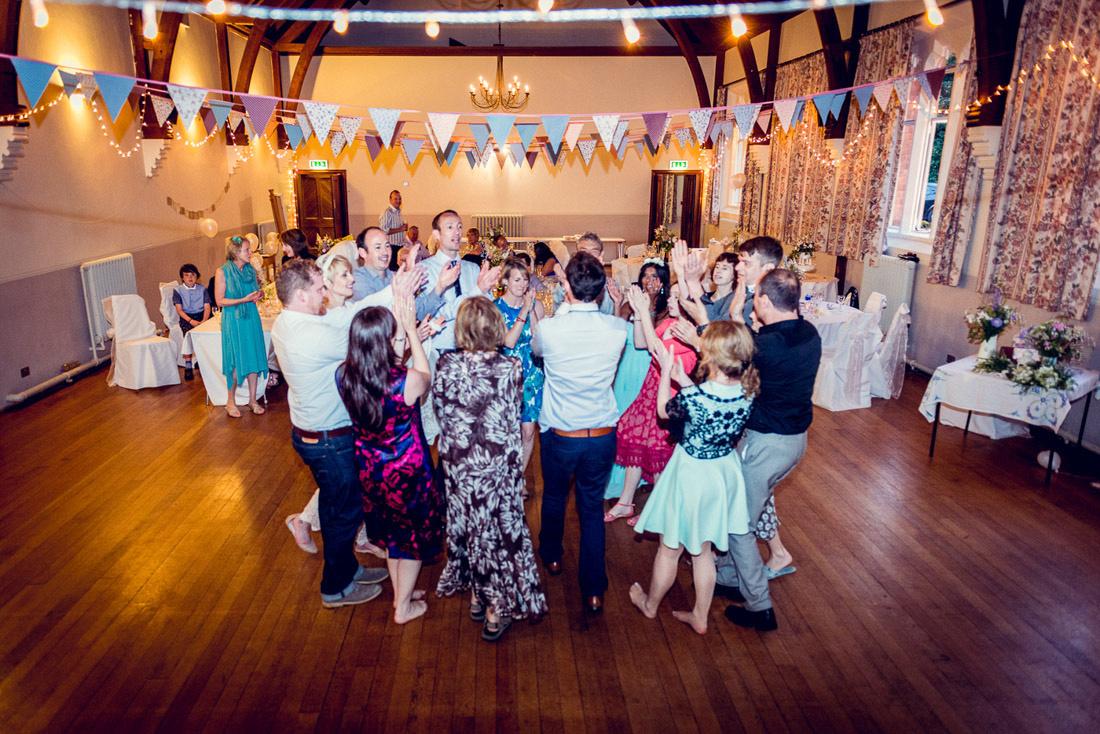 Ceilidh at Hatton Village Hall wedding