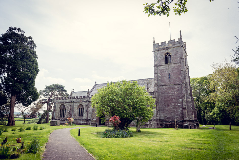 Inkberrow church