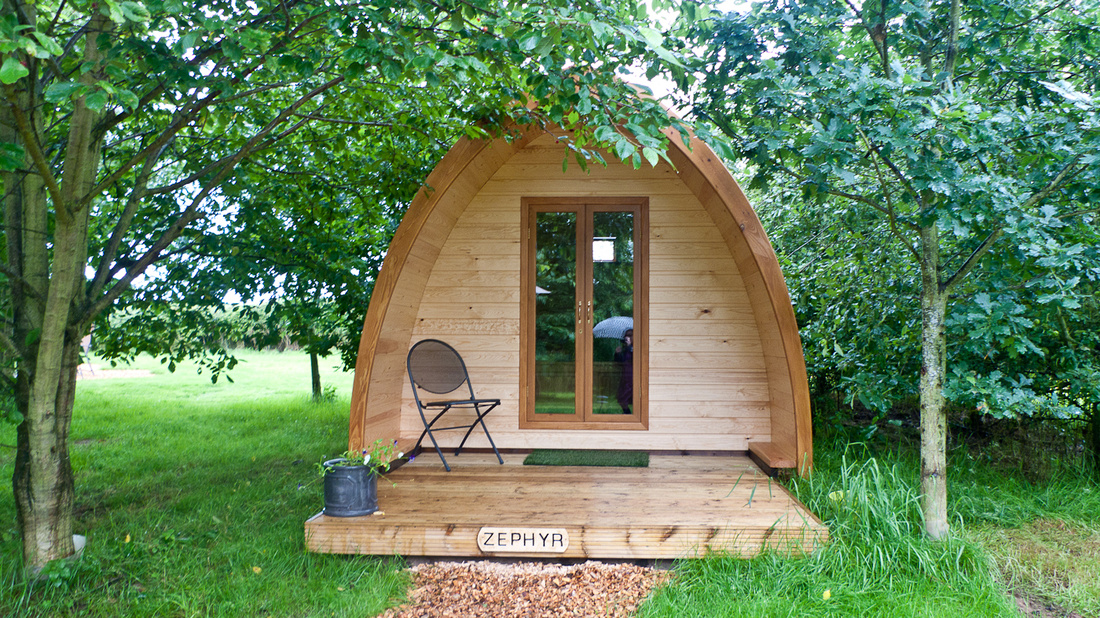 Wootton Park glamping pod quirky outdoor alternative wedding