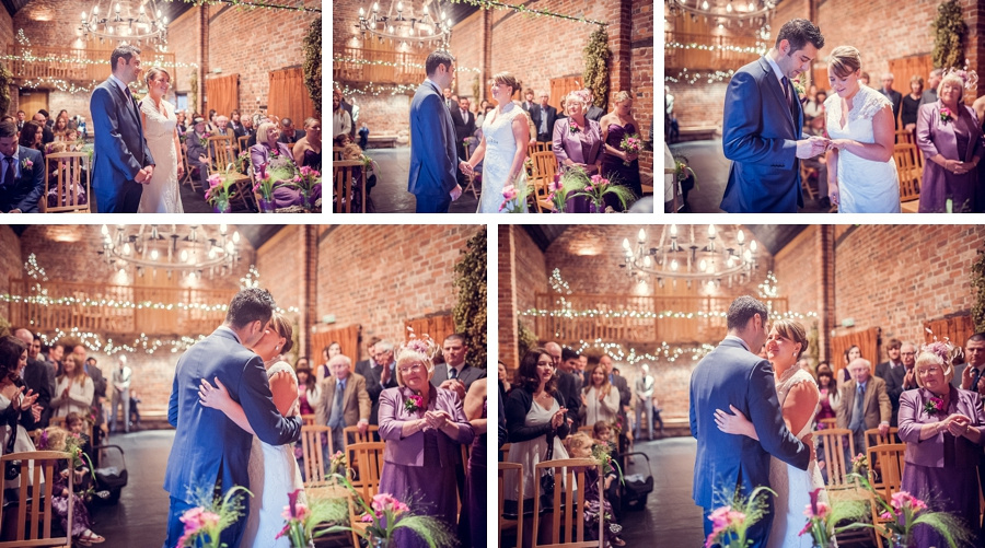 Wedding Photography at Curradine Barns in Worcestershire ceremony