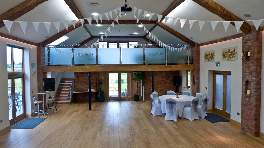 Wootton Park barn reception alternative wedding