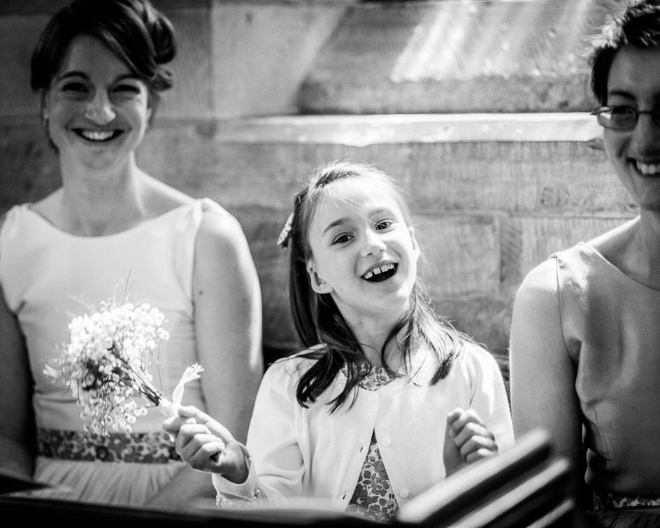 cute bridesmaid