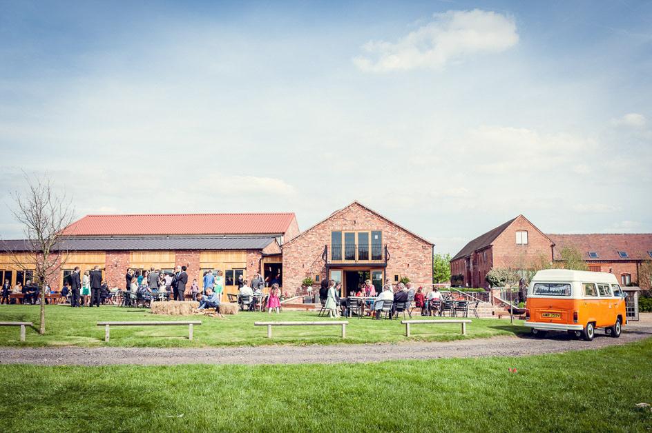 wedding reception at Wootton Park