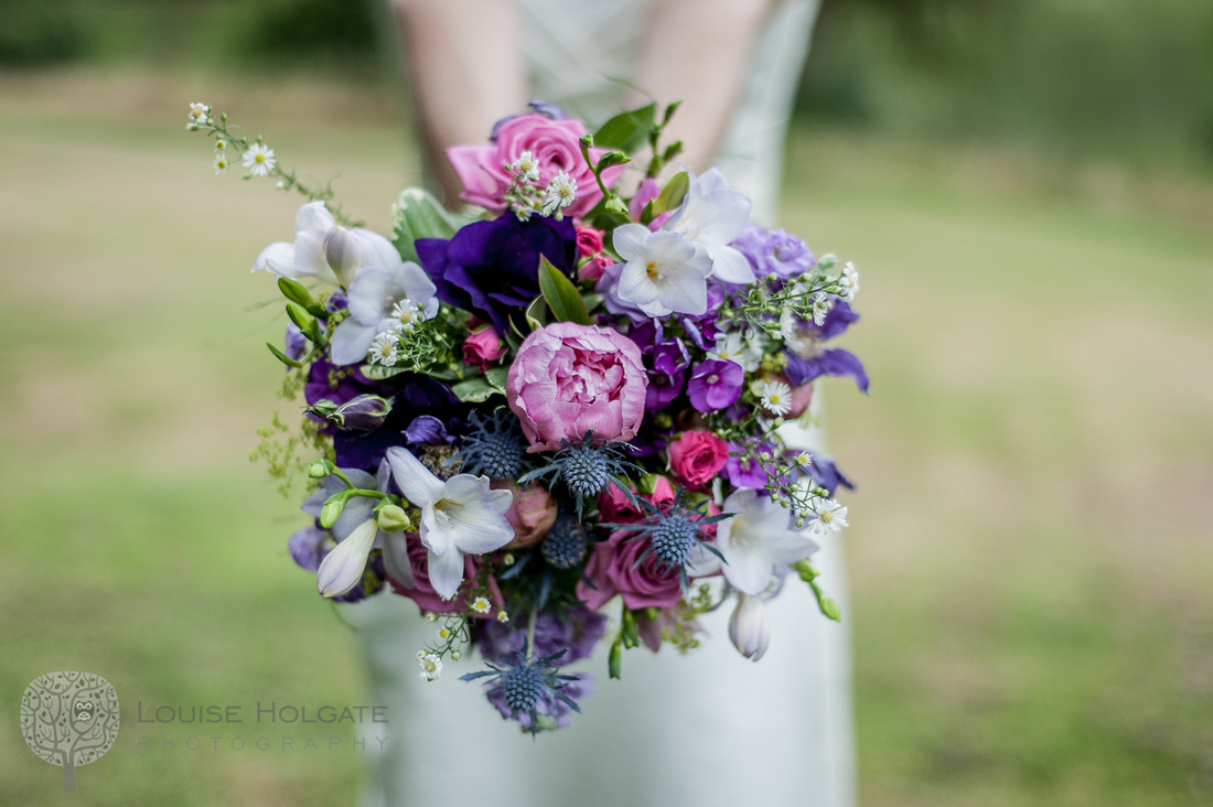 bride, bouquet, peony, wild, flowers, freesias