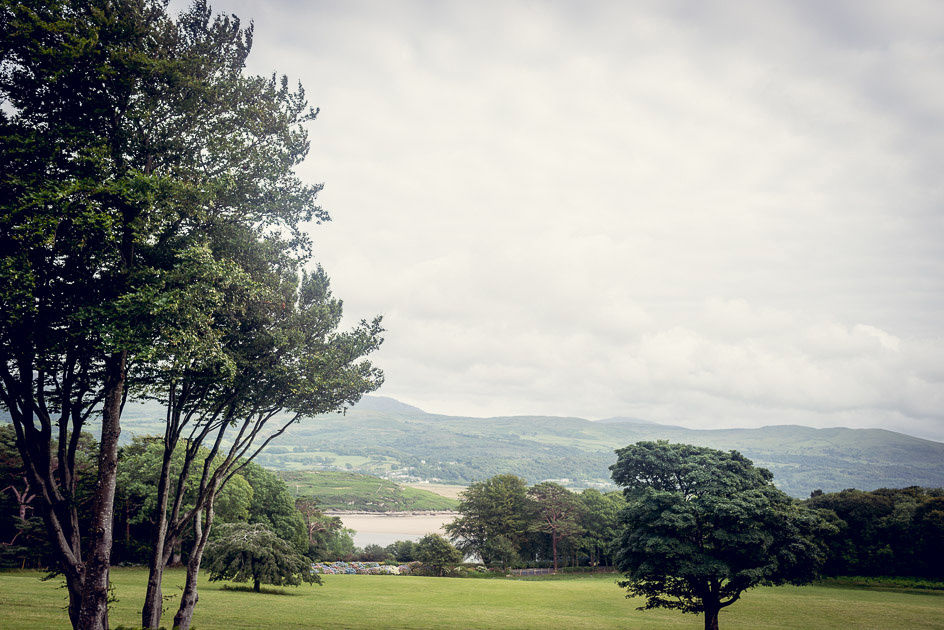 View of estuary from Castle Deudraeth