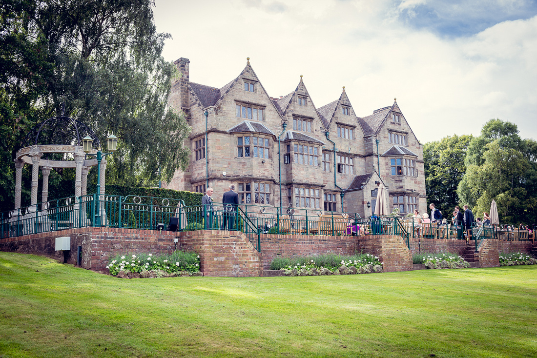 """Weston Hall"" Staffordshire wedding"