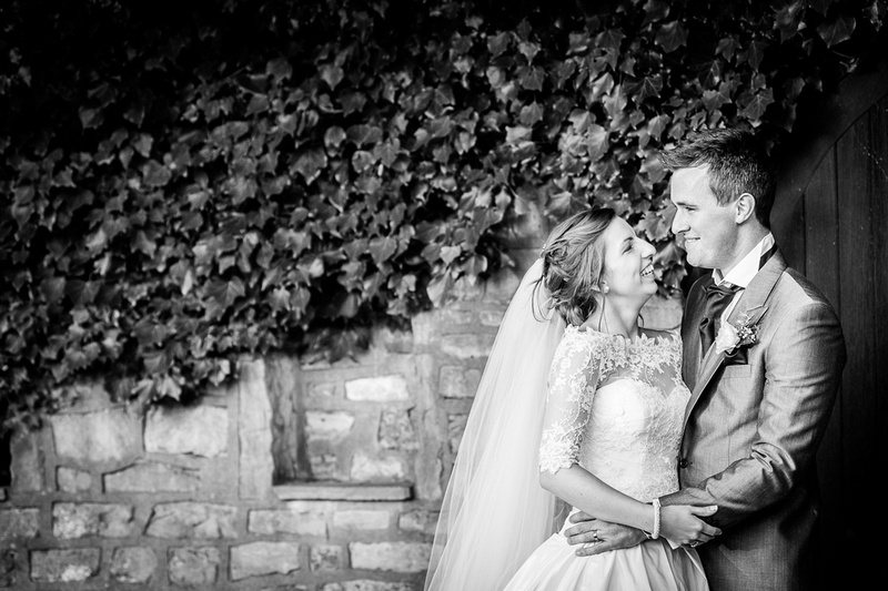 wedding couple portrait Hadley Park House