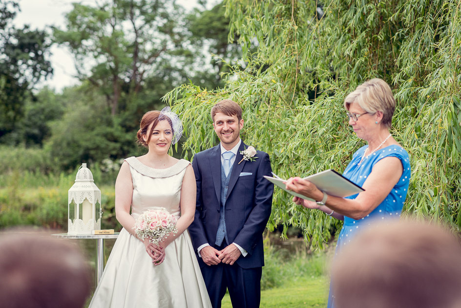 One Life outdoor ceremony at Wootton Park  in Warwickshire
