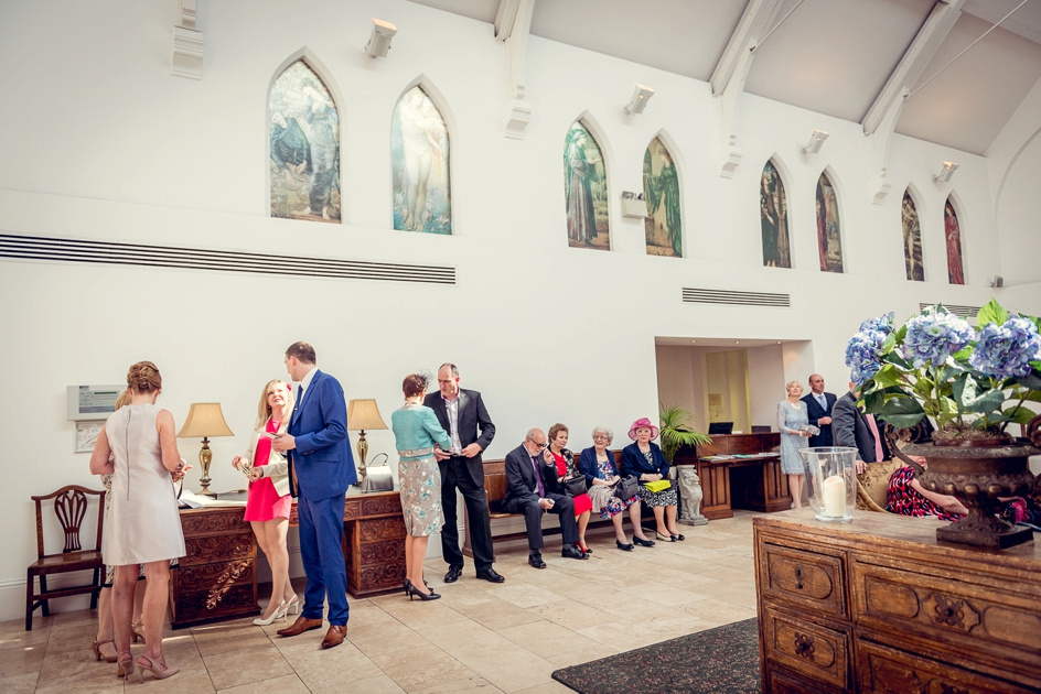 Fazeley Studios wedding reception
