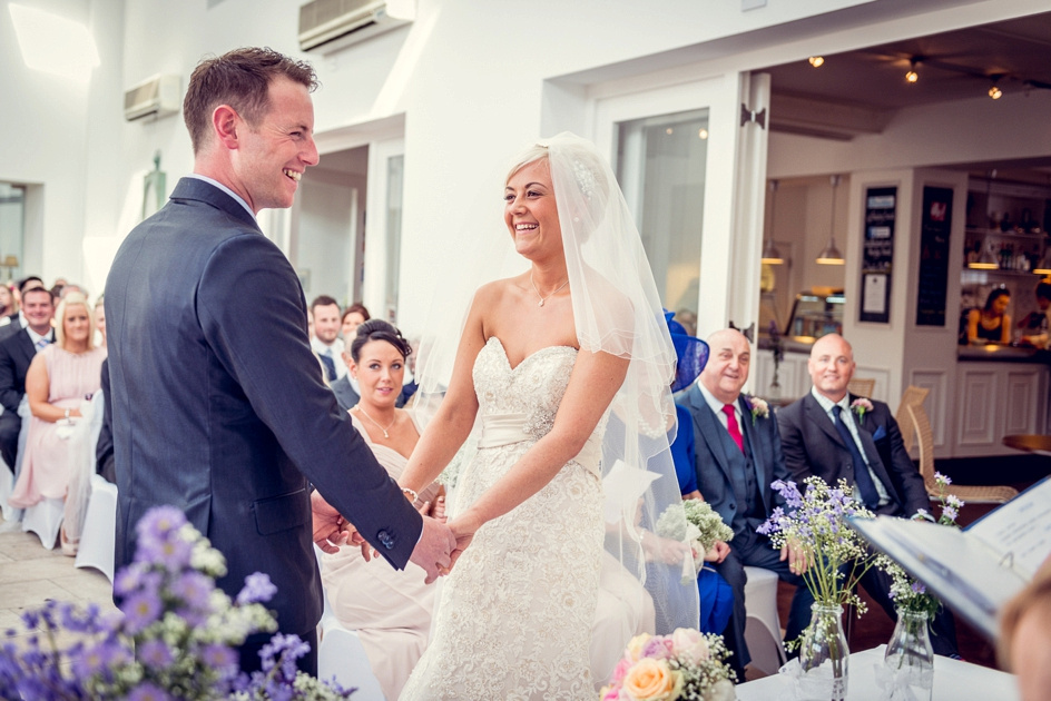 wedding ceremony at Fazeley Studios in Birmingham