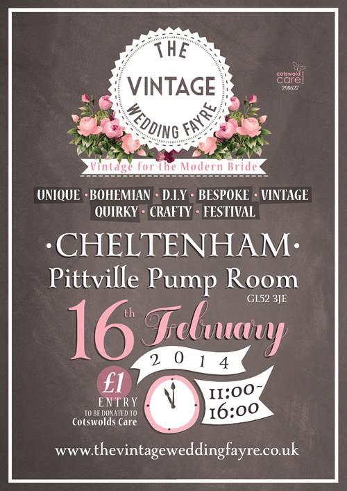 vintage wedding fair Cheltenham Spring 2014