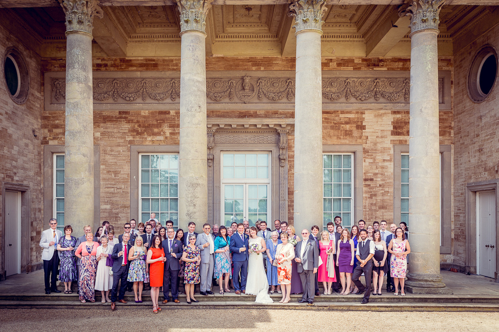group shot outside Compton Verney Art Gallery