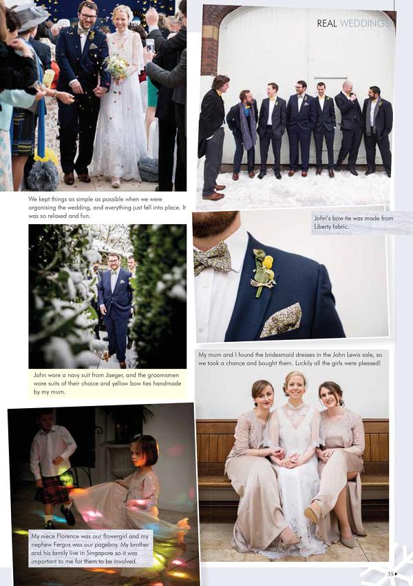 Wedding Magazine feature 3