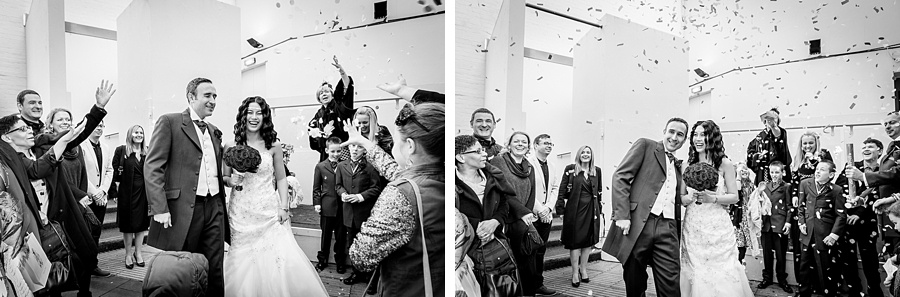 A Chinese themed wedding at the Old Library in the Custard Factory in Birmingham female photographer relaxed natural quirky Christmas winter