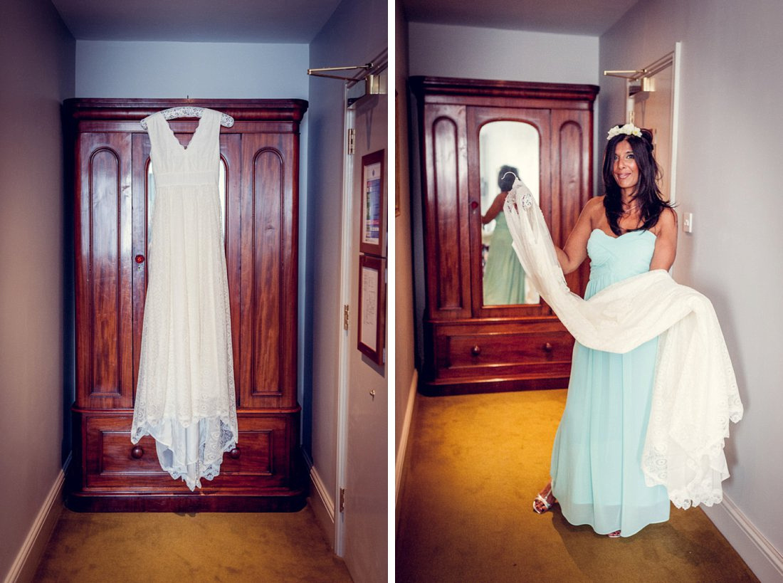 Minna vintage style ethereal wedding dress
