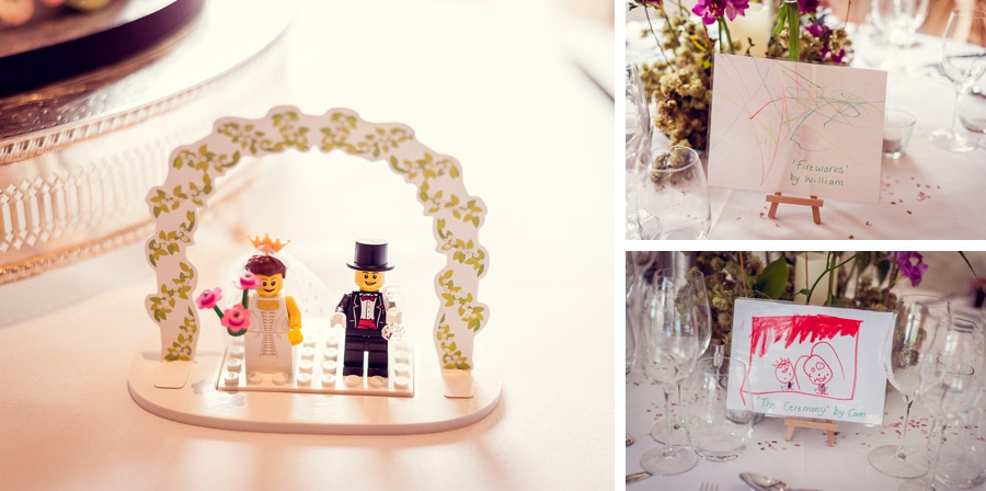 Wedding Photography at Curradine Barns in Worcestershire  lego bride groom