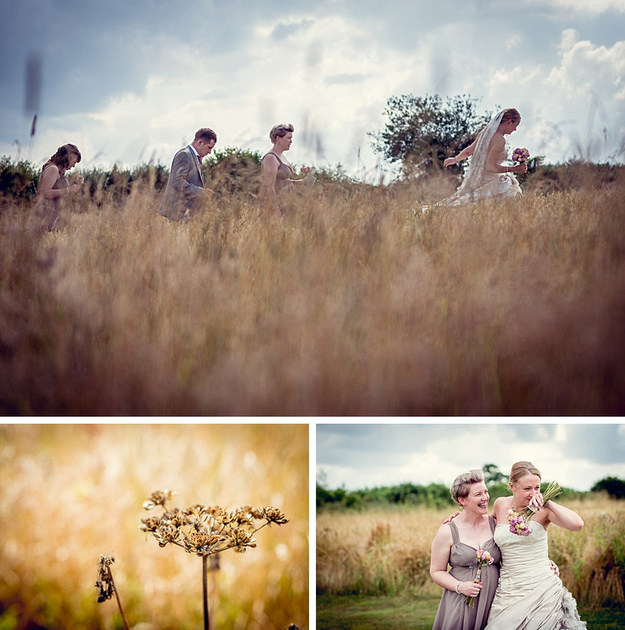 Outdoor Wedding Ceremony Eau Claire: Louise Holgate Photography