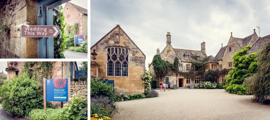 Hidcote Manor wedding Gloucestershire